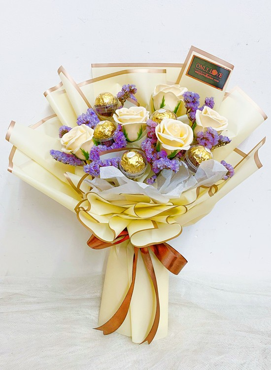 SF09 Soap Rose Bouquet