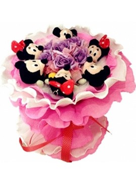 H24 Mickey & Minnie Bouquet