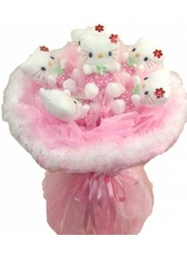 H28 Hello Kitty Bouquet