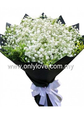 BA07 Baby Breath Bouquet
