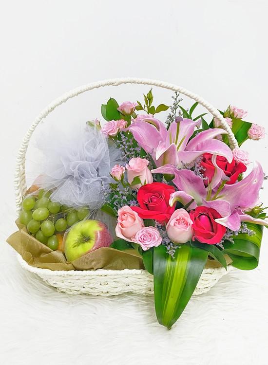 F11 Fruits & Flowers Basket