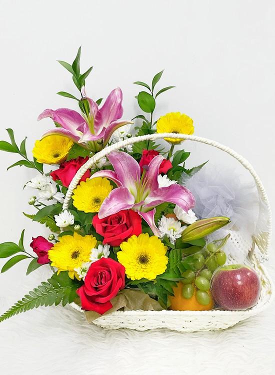 F12 Fruits & Flowers Basket