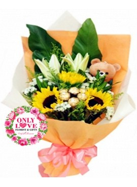 S08 Sunflower Bouquet