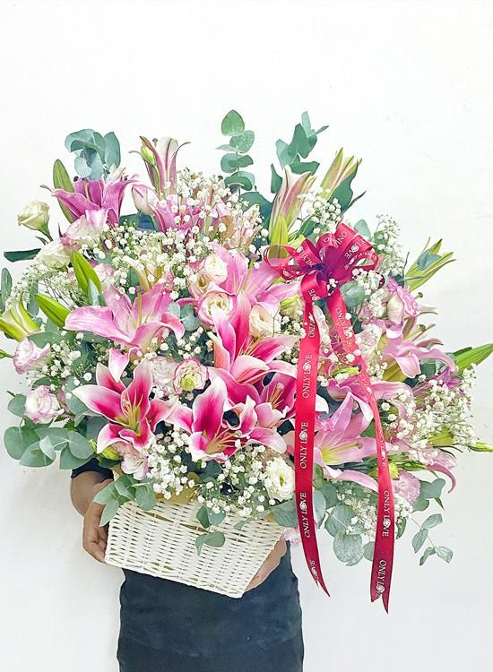 B46 Flower Basket