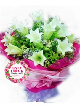 A04 Lilies Bouquet