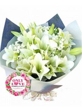A09 Lilies Bouquet