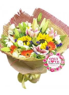 A11 Lilies Bouquet