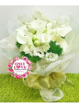 A12 Lilies Bouquet