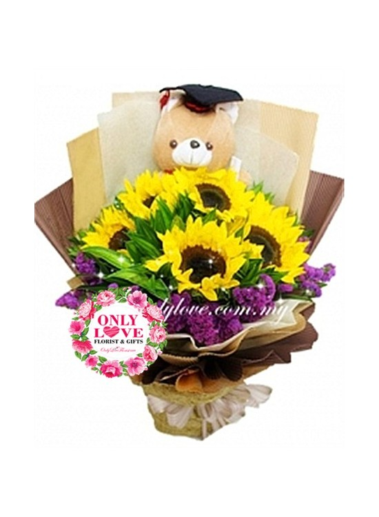 GB14 Graduation Bouquet