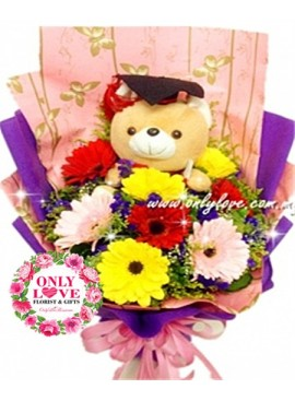 GB15 Graduation Bouquet