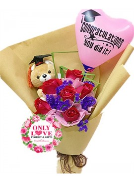 GB16 Graduation Bouquet