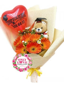 GB17 Graduation Bouquet