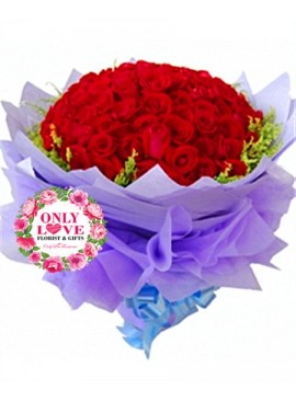 L20 99 Stalks Rose Bouquet
