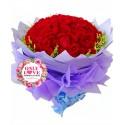 L20 99 Stalks Rose Bouquet