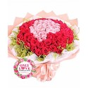 L21 99 Stalks Rose Bouquet