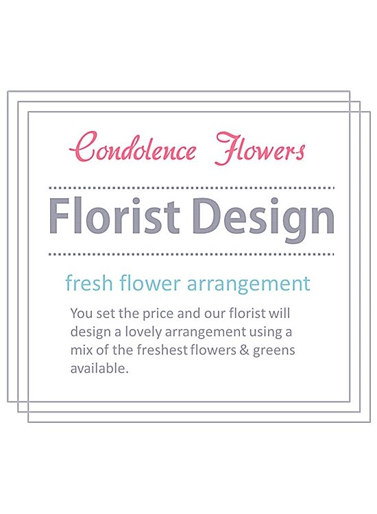 Custom Made Condolence Floral Stand