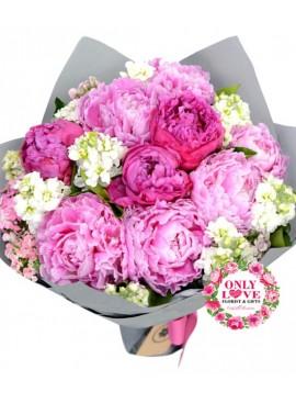 PE03 Peonies Bouquet