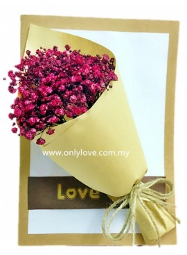 AD018 Baby Breath Message Card