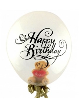 FB24 Teddy Latex Balloon (Air Filled)