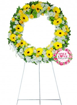 C62 Wreath Funeral Stand