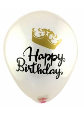 HB22 Crown Latex Balloon (Helium)
