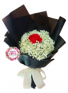 L85 Rose Hand Bouquet