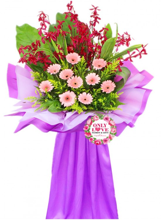FS90 Opening Floral Stand sameday flower delivery to Malaysia | Only ...