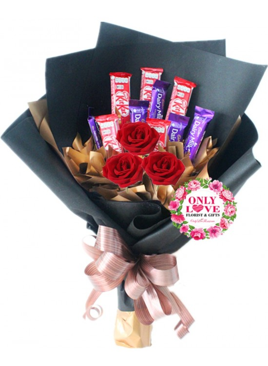E24 Mixed Chocolate Bouquet