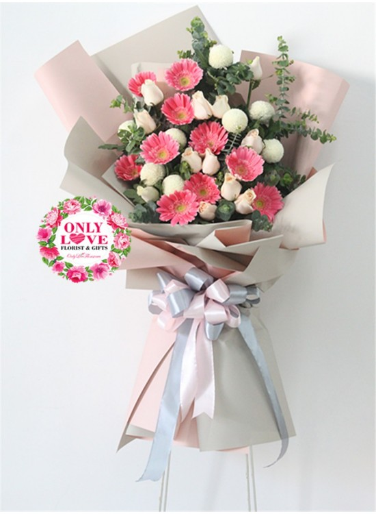 FS97 BIG Bouquet Flower Stand same day flower delivery to Malaysia ...