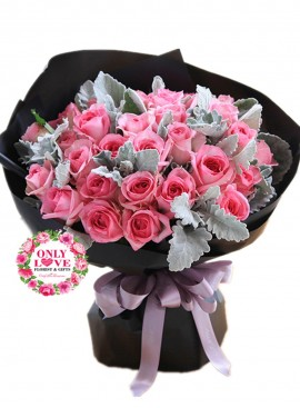 L99 Rose Hand Bouquet