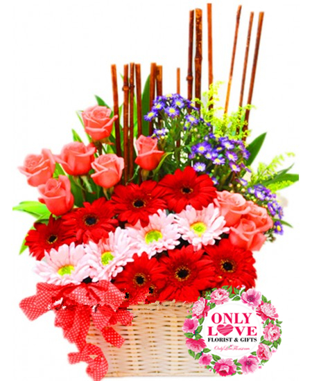 Flower Basket Chow Kit