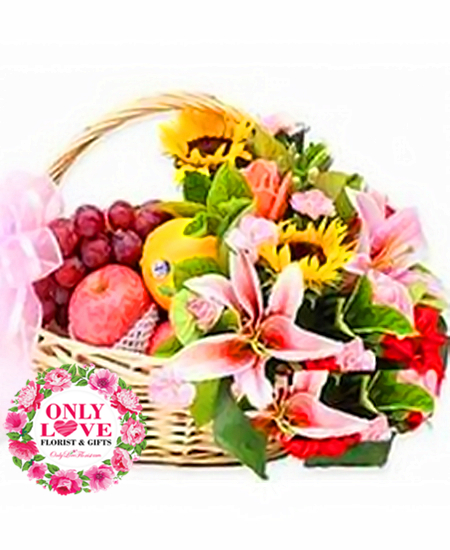Fruits & Flower Baskets