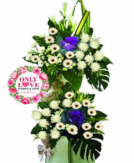 Xiao En Centre Florist Funeral Wreath Flower