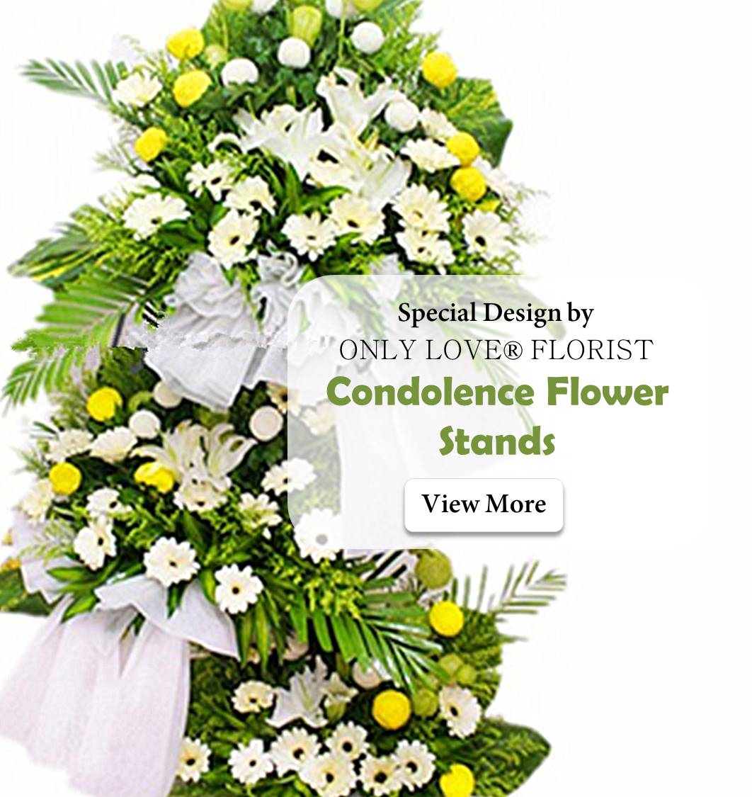 Only love nirvana florist kedai bunga same day condolence funeral flower delivery izmirmasajfo Gallery