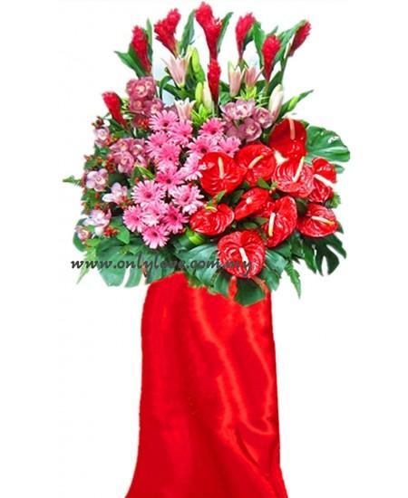 Flower for Grand Opening