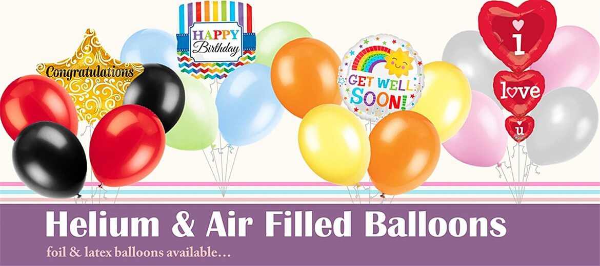 Foil Latex & Bubble Balloons