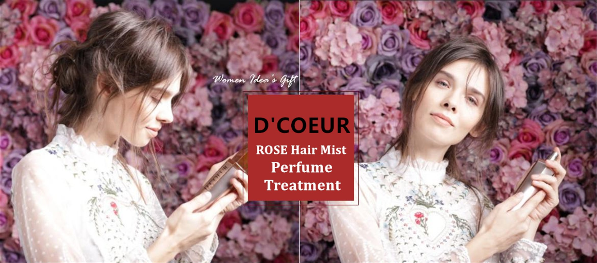 AD021 D'COEUR ROSE Hair Mist Treatment
