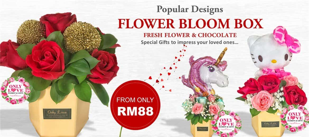 Fresh Flower Bloom Box