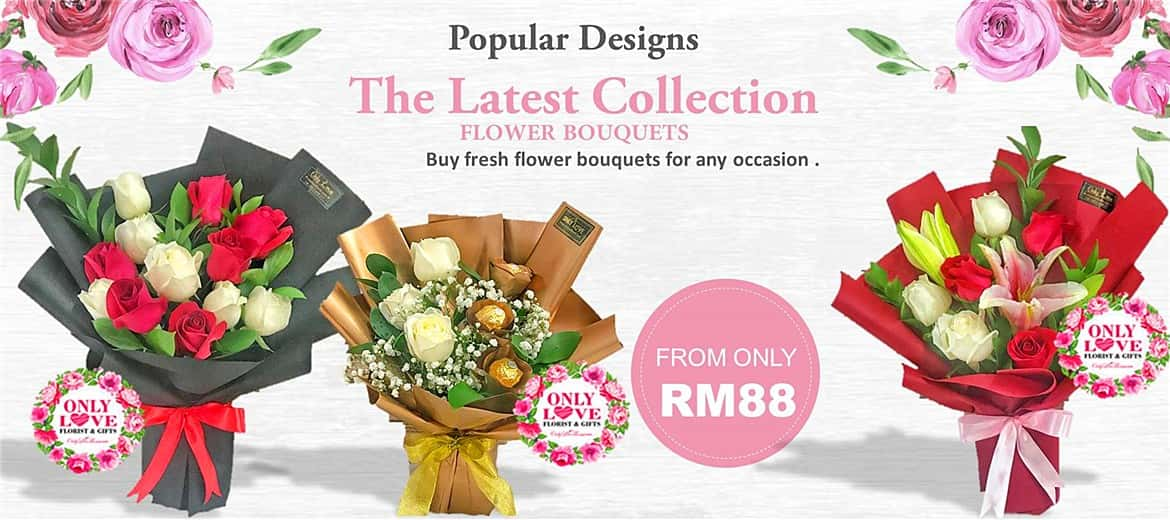 The Latest Design of Flower Bouquets