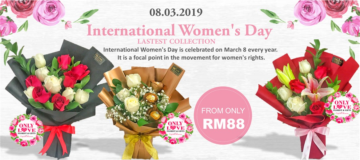 International Women's Day Flower Delivery